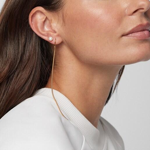 Silver Vermeil Hebi Earrings
