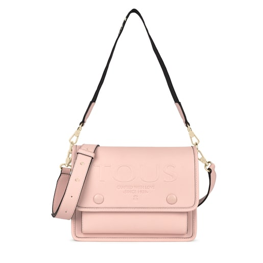 Medium pink Audree T POP crossbody bag