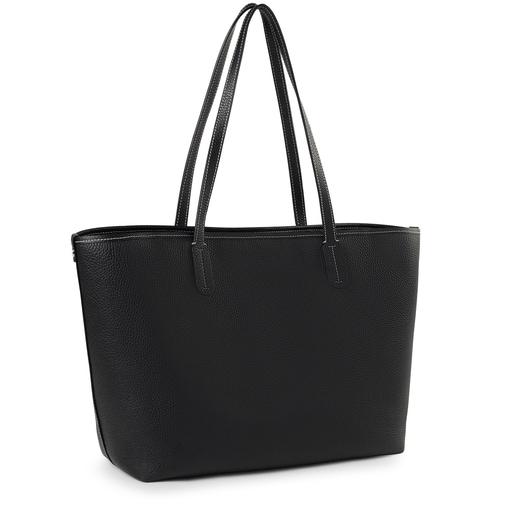 Black leather TOUS Legacy Tote bag