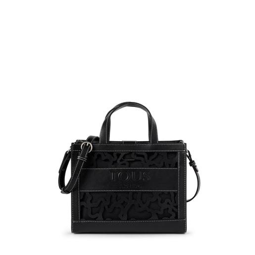 Medium black Amaya Kaos Shock shopping bag