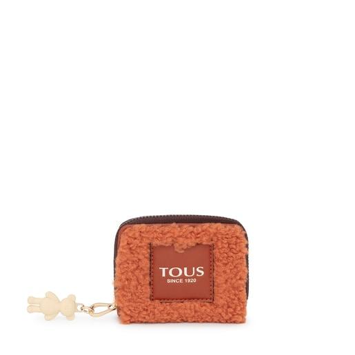 Medium russet Amaya Warm Change purse