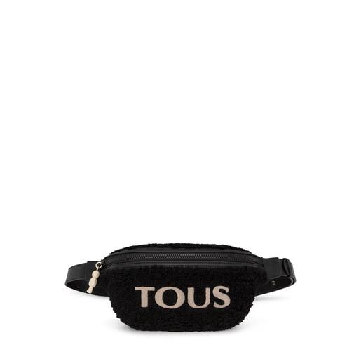 Μαύρη τσάντα Μέσης Amaya Warm