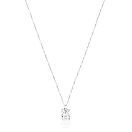 Silver Oceaan bear Necklace