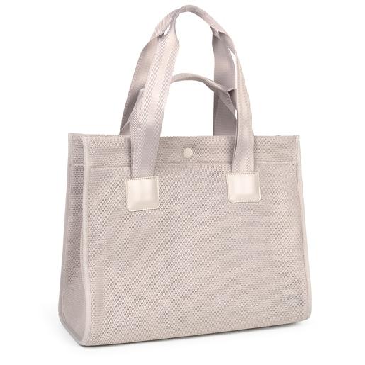 Large gray Ina TOUS Shopping bag