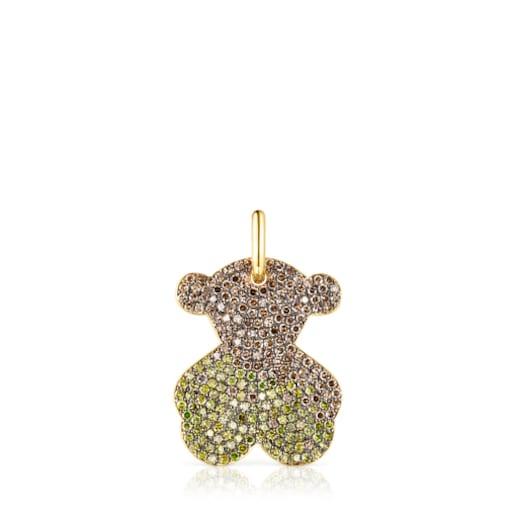 Dije Icon Gems de oro y diamantes amarillos-Limited edition