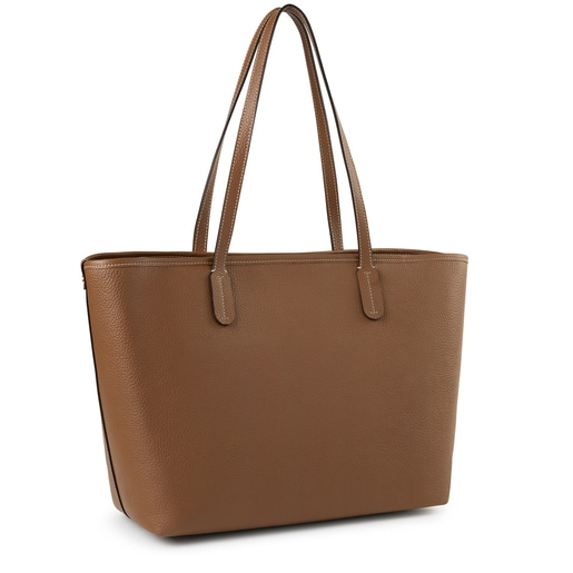 Brown leather TOUS Legacy Tote bag