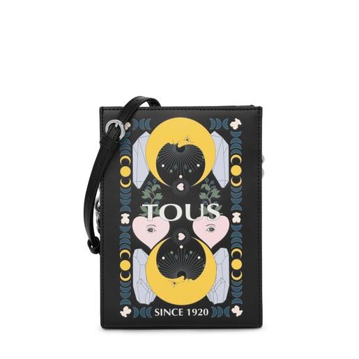 Mini bolso negro multicolor TOUS Magic