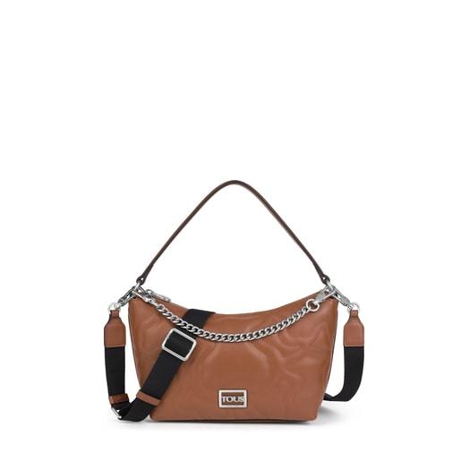 Brown Kaos Dream Baguette Crossbody bag