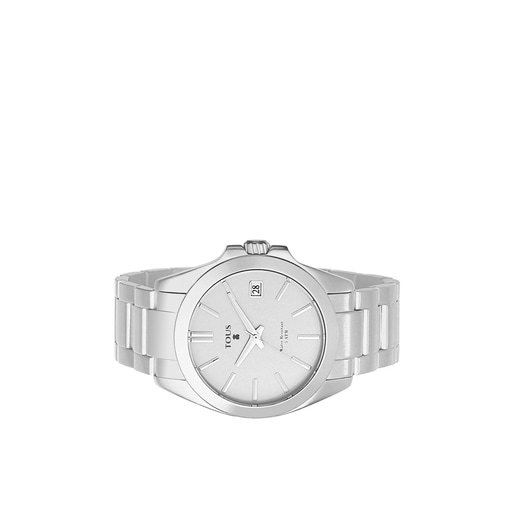 Silver anodized Aluminum Drive Watch