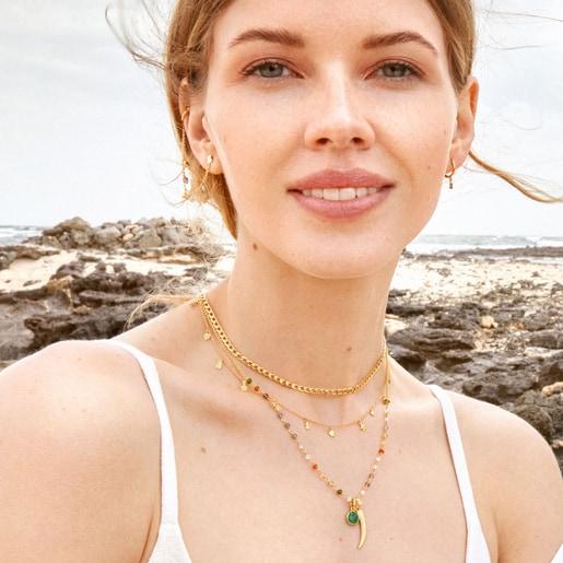 Conjunto de collares de plata vermeil Good Vibes - Cool Joy