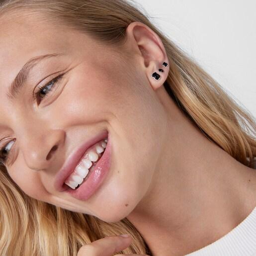 Ohrringe New Color aus Silber