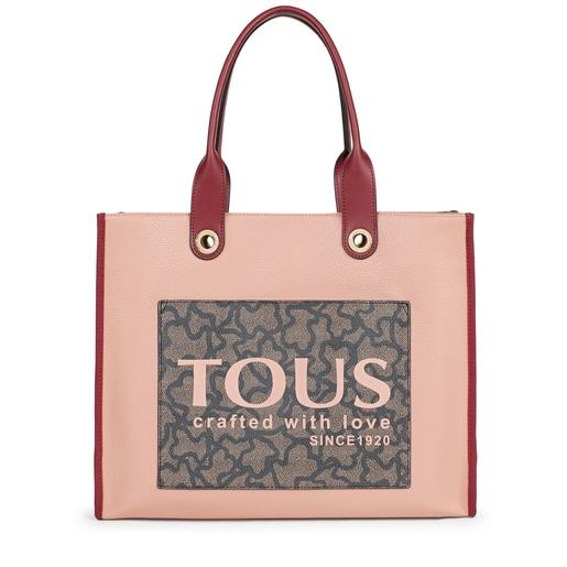 Große Shopping-Tasche Amaya Kaos Icon in Pink