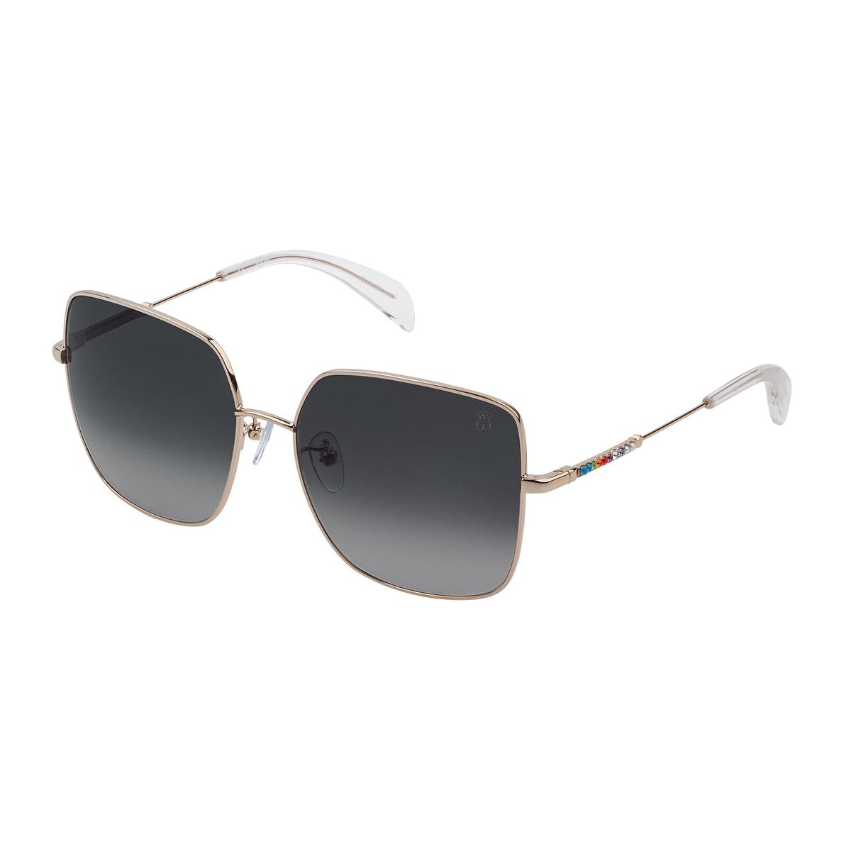 Pink Metal Straight Gema Sunglasses