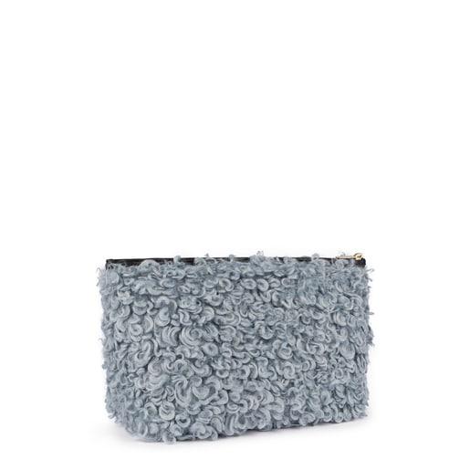 Μεσαίου μεγέθους γκρι-μπλε τσάντα Kaos Shock Ritzo
