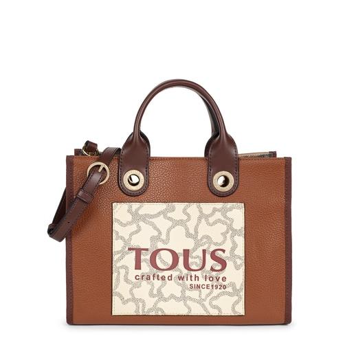 Shopping mediano Amaya Kaos Icon multi marrón