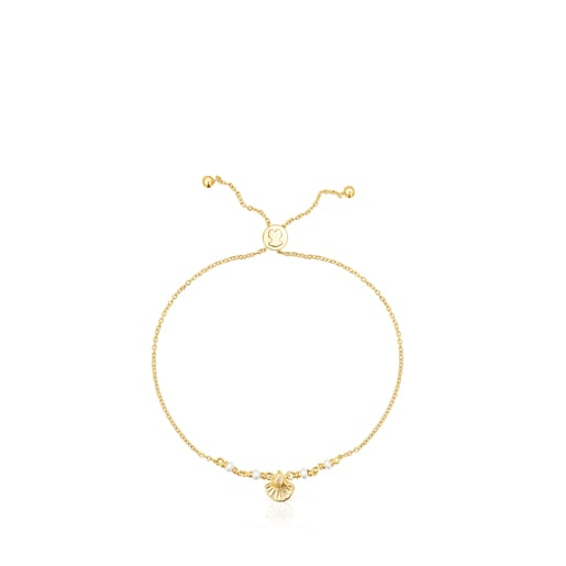 Silver vermeil Sea Vibes Bracelet with pearls