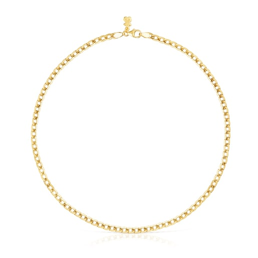Silver vermeil Hold-girl Necklace set
