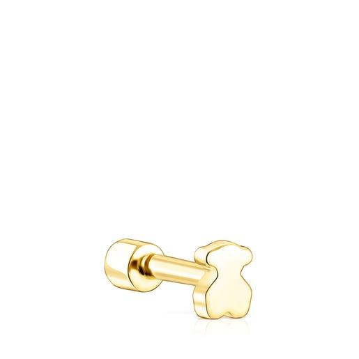 Piercing d'orella TOUS Basics d'or i diamant