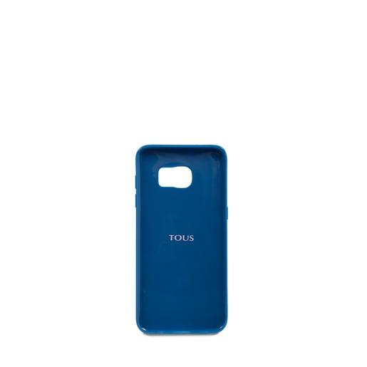 Funda de móvil Samsung Galaxy S7 Edge Kaos en color azul y rosa