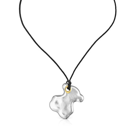 Silver Luah bear Necklace