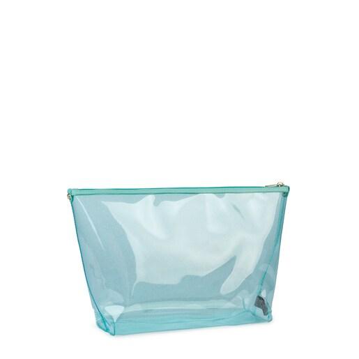 Μεσαίου μεγέθους τσάντα Kaos Shock από Βινύλιο σε χρώμα πράσινο της μέντας