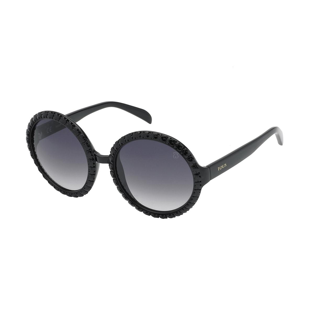 Square Bear sunglasses in black