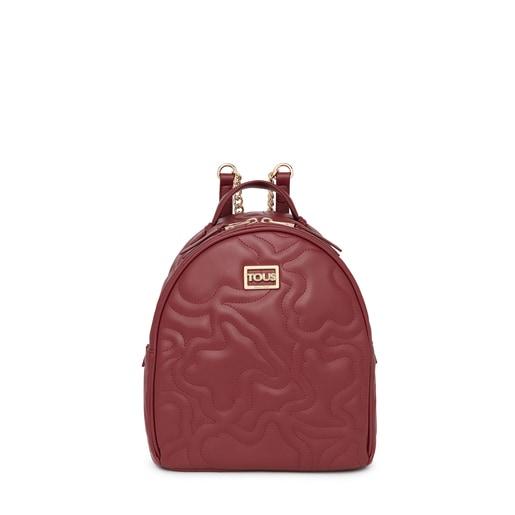 Burgundy Kaos Dream backpack
