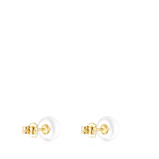 Pendientes TOUS Pearls de Oro y perlas