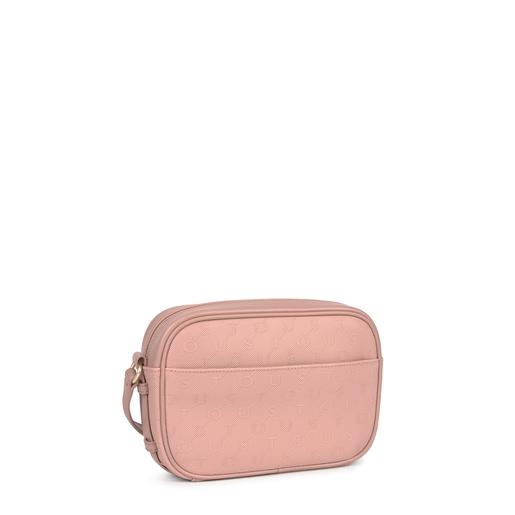 Pink Script Day crossbody bag