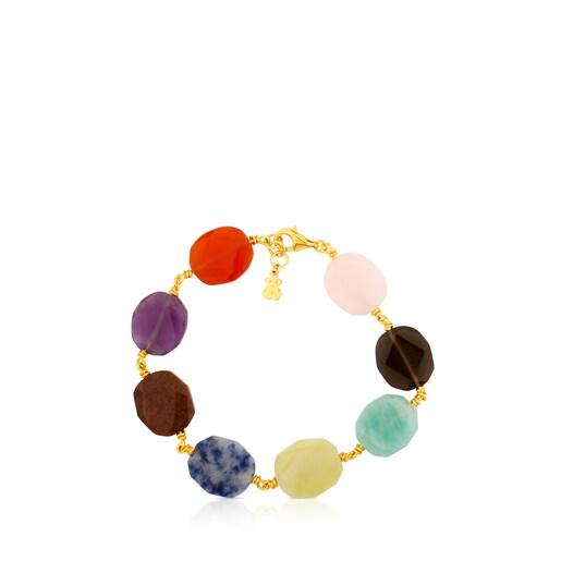 Vermeil Silver Terra Bracelet with Gemstones