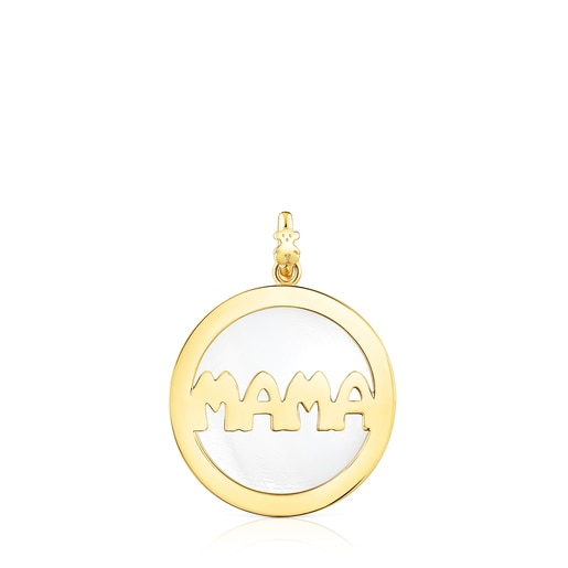 Malachite Mama Medallion and Necklace set