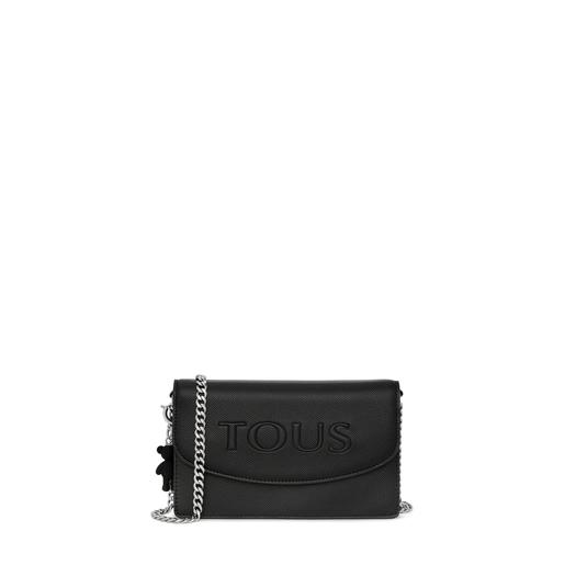 Small black T Pop Crossbody bag