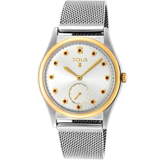 Reloj Free bicolor acero/IP dorado