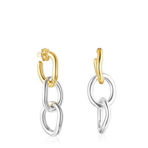 Two-tone Hav XL ring Earrings