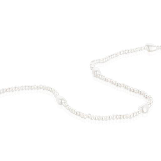 Collar de perlas y plata Oceaan