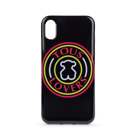 Funda iPhone X/Xs Tous Lovers multicolor