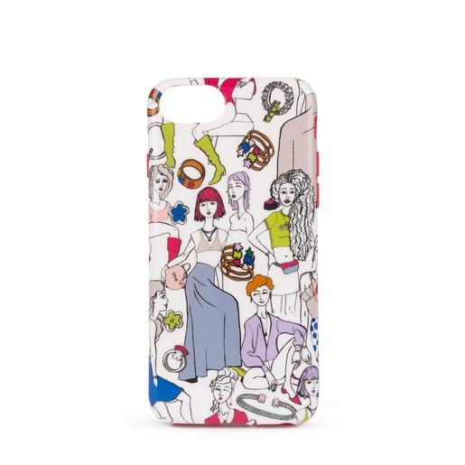 Funda iPhone 6S/7/8 Tribe multicolor