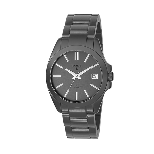 Gray anodized Aluminum Drive Watch
