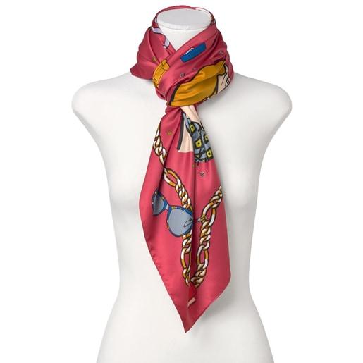 Cherry Tous Tribe scarf