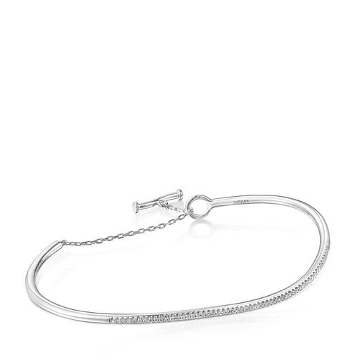 White gold Hav Bracelet with diamonds