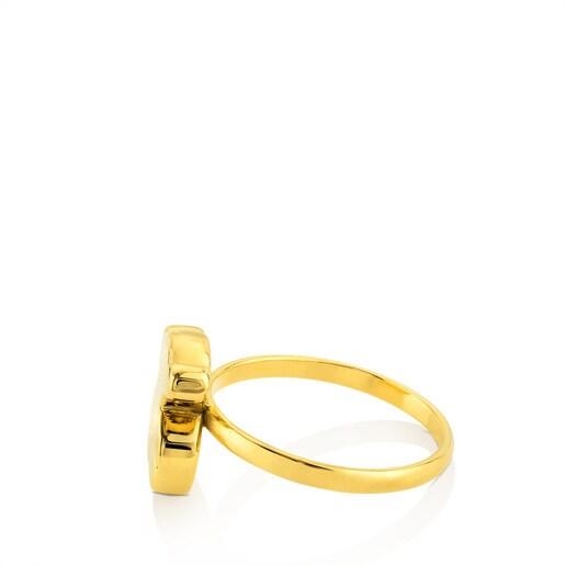 Gold Sweet Dolls Ring