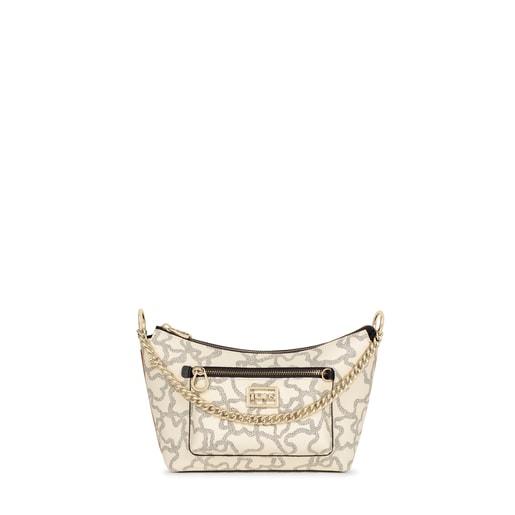 Multi-beige Kaos Icon Baguette Crossbody bag