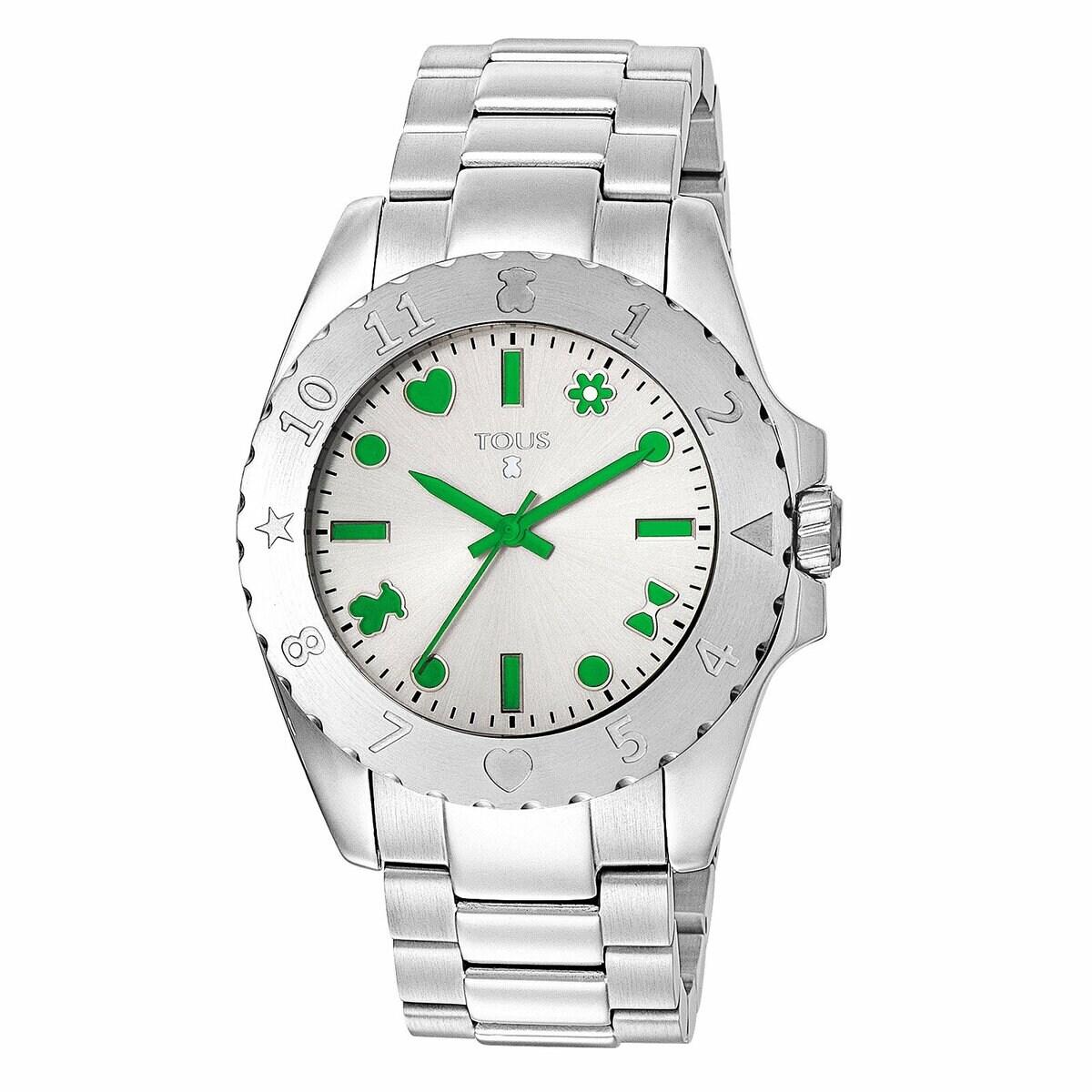 Steel Motif Watch