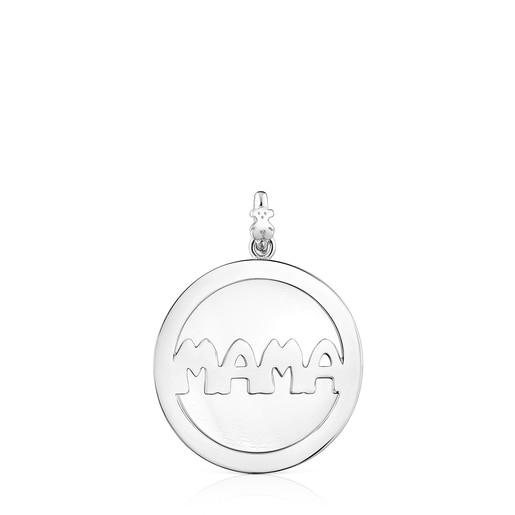 Mama-girl medallion Necklace set
