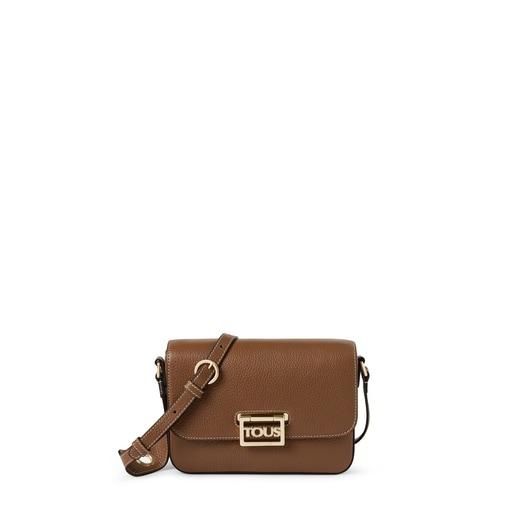 Brown leather TOUS Legacy Crossbody bag