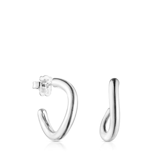 Σκουλαρίκια Hav από ασήμι