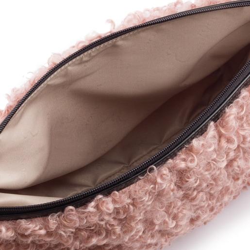 Μεσαίου μεγέθους ροζ τσάντα Kaos Shock Ritzo