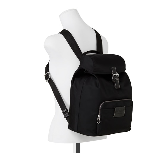 Black Empire Soft Chain Backpack