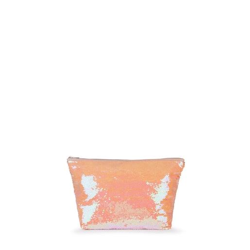 Bolsa pequeña Kaos Shock Sequins rosa