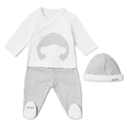 Conjunto de recién nacido Classic Blanco